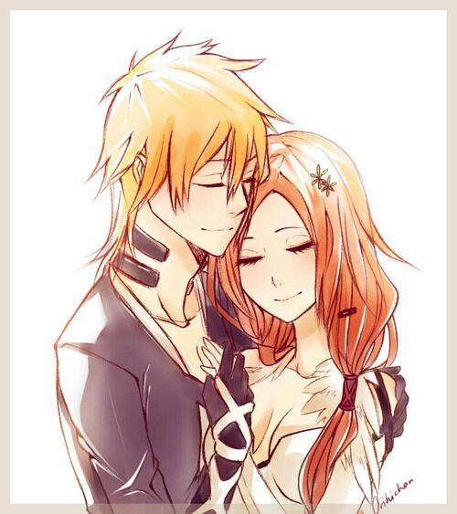 Who should be ichigo's girlfriend rukia or orihime ...