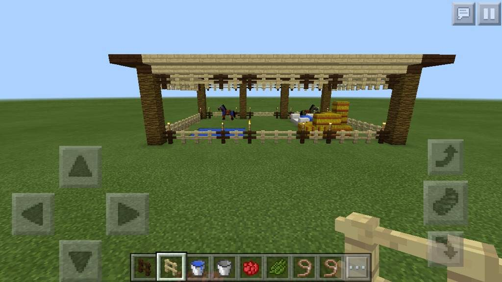 Cool Horse Stable Minecraft Amino