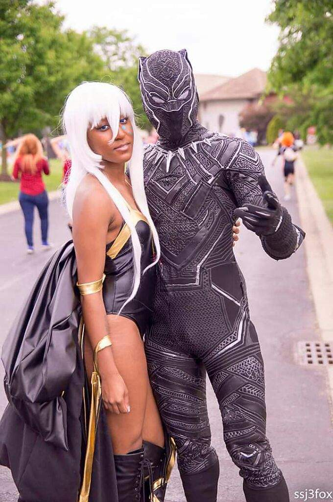Image result for black panther storm cosplay