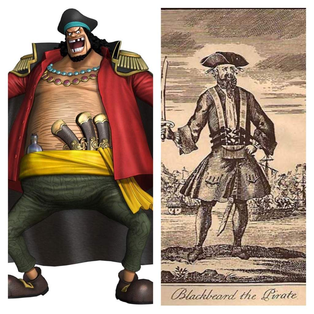 Marshall D Teach Pirate Warriors: One Piece Characters And Their Real World Counterparts