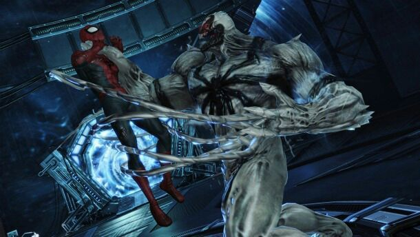 Anti Venom Vs Spiderman 2099