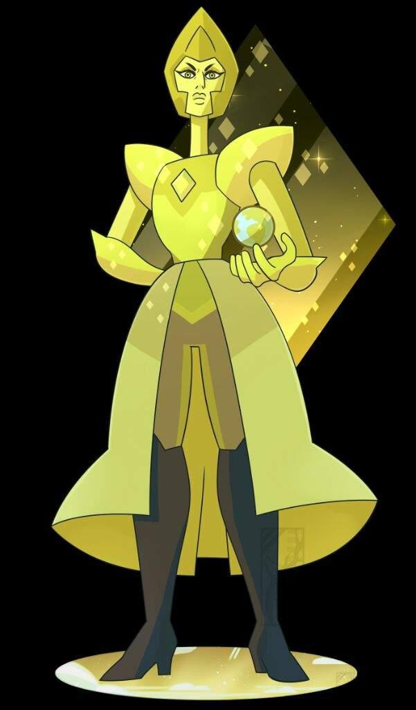 Did pearl belong to white diamond cartoon amino for Yellow diamond mural