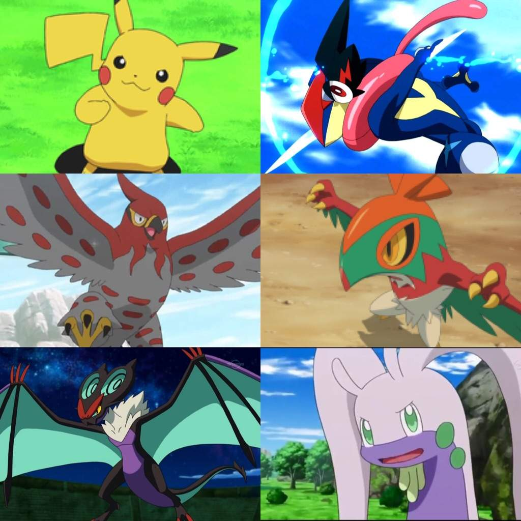ash and his ultimate kalos team pokémon amino