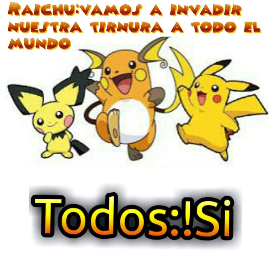 Pichupikachu Y Raichu Plan Pokémon En Español Amino