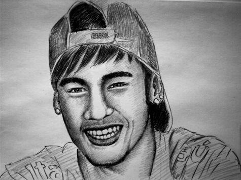 Top 5 Dibujos De Neymar  Ftbol Amino