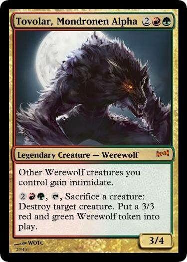 Tangleclaw Werewolf (Eldritch Moon) - Gatherer - Magic: The Gathering