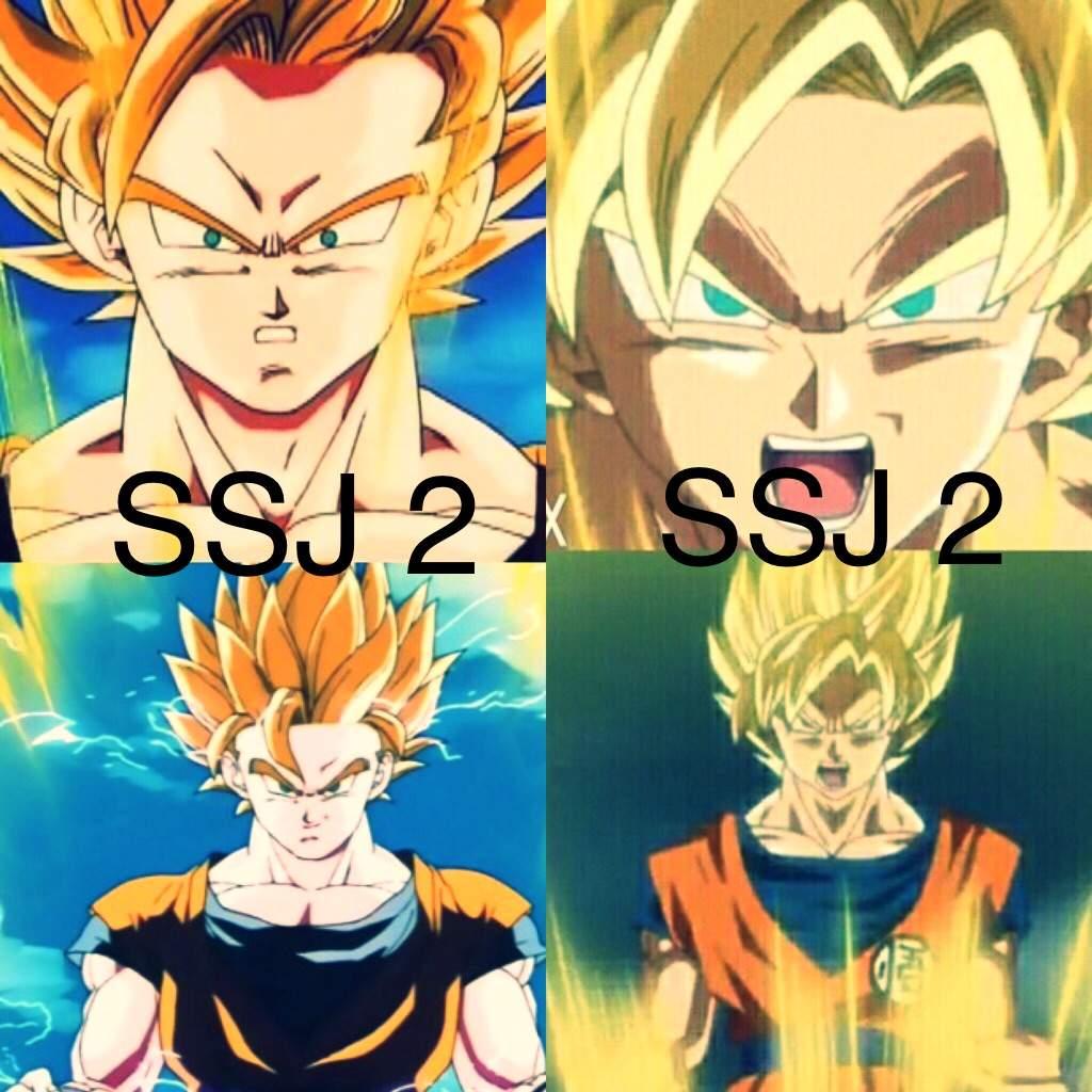 Exceptionnel SSJ 2 DBZ Style Or SSJ 2 DBS Style | DragonBallZ Amino NM44