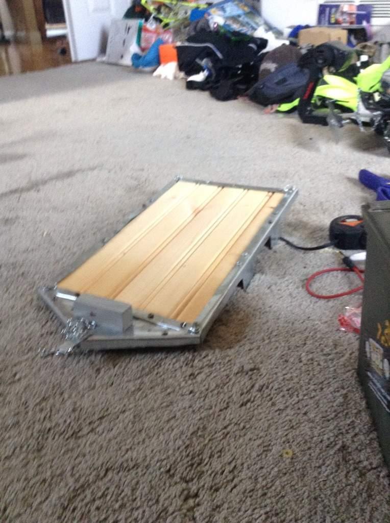 rc trailer build garage amino