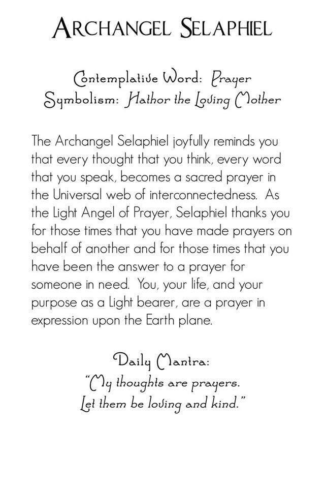 Archangel Selaphiel   Wiki   Paranormal Amino