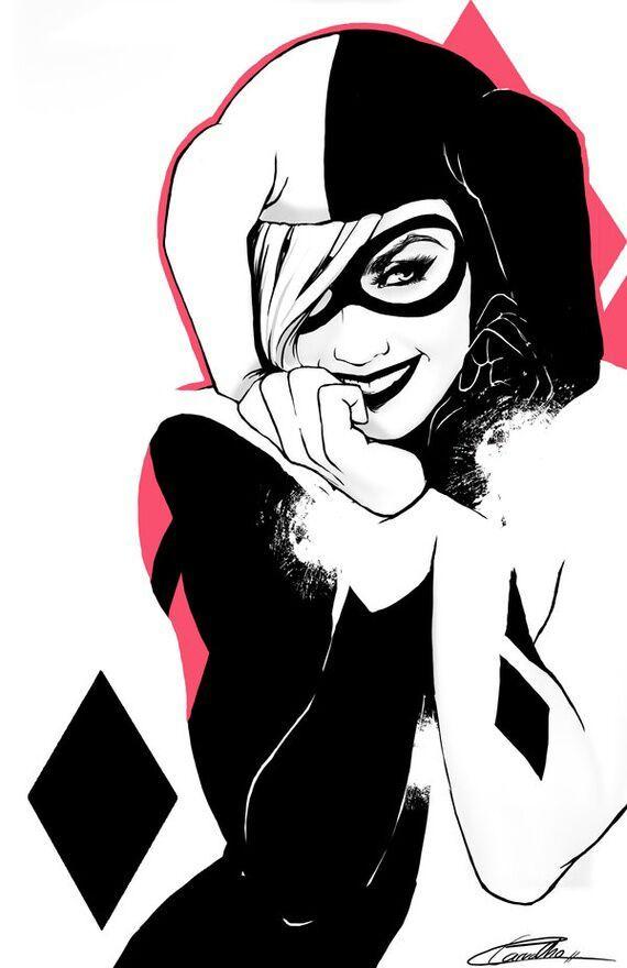 Harley Quinn Dibujo A L Piz Anime Amino