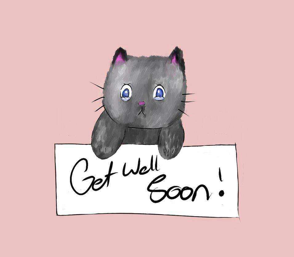 So i drew a get well card that you can give to any loved ones who are ill im sorry that its not that great if you could please give me some feedback