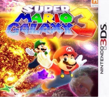 Looking at Super Mario Galaxy 3 Cover Concepts | Mario Amino