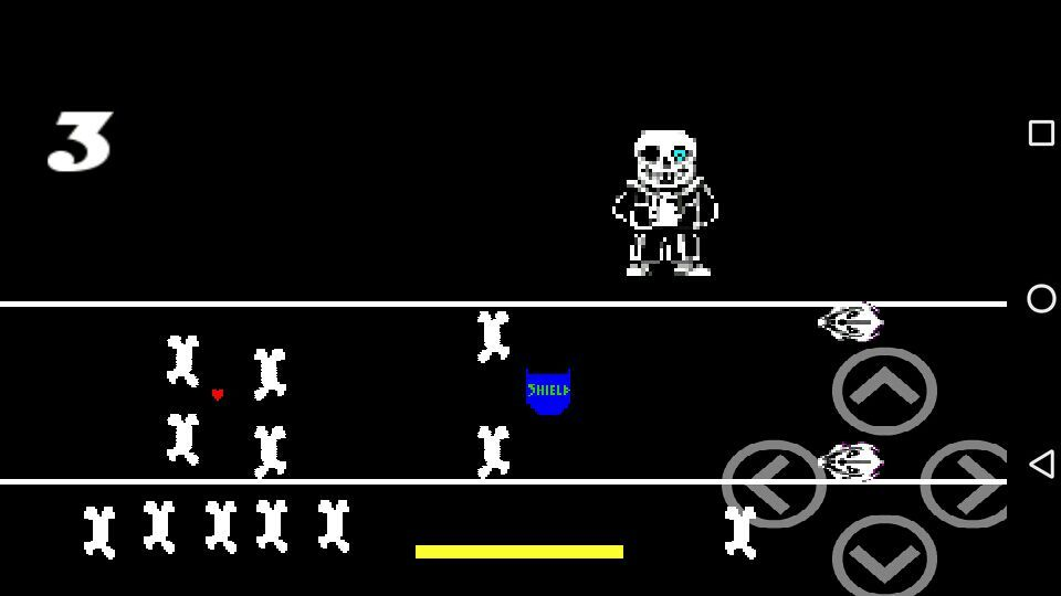 I created a game Sans in game creator for Android: undertale Sans