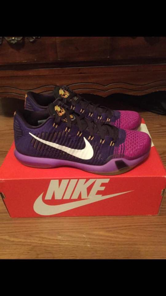 592bc545f7c ... purchase someone is offering these draft day kobe 10 elite lows to me  for 90.