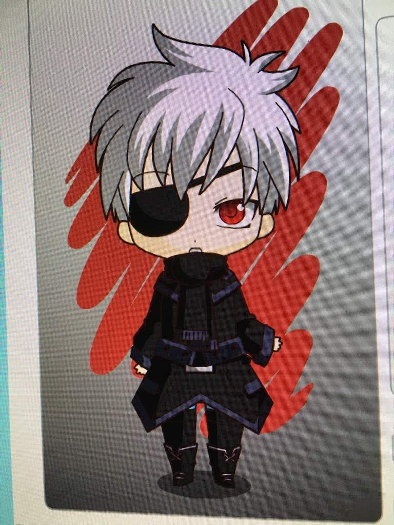 Chibi Maker And We Decided To Make Kaneki Tokyo Ghoul L Death Note Sora No Game Life This Do Not Have Too Many Options So Probably The