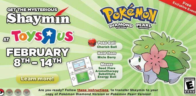 Shaymin Event Starts today! | Pokémon Amino