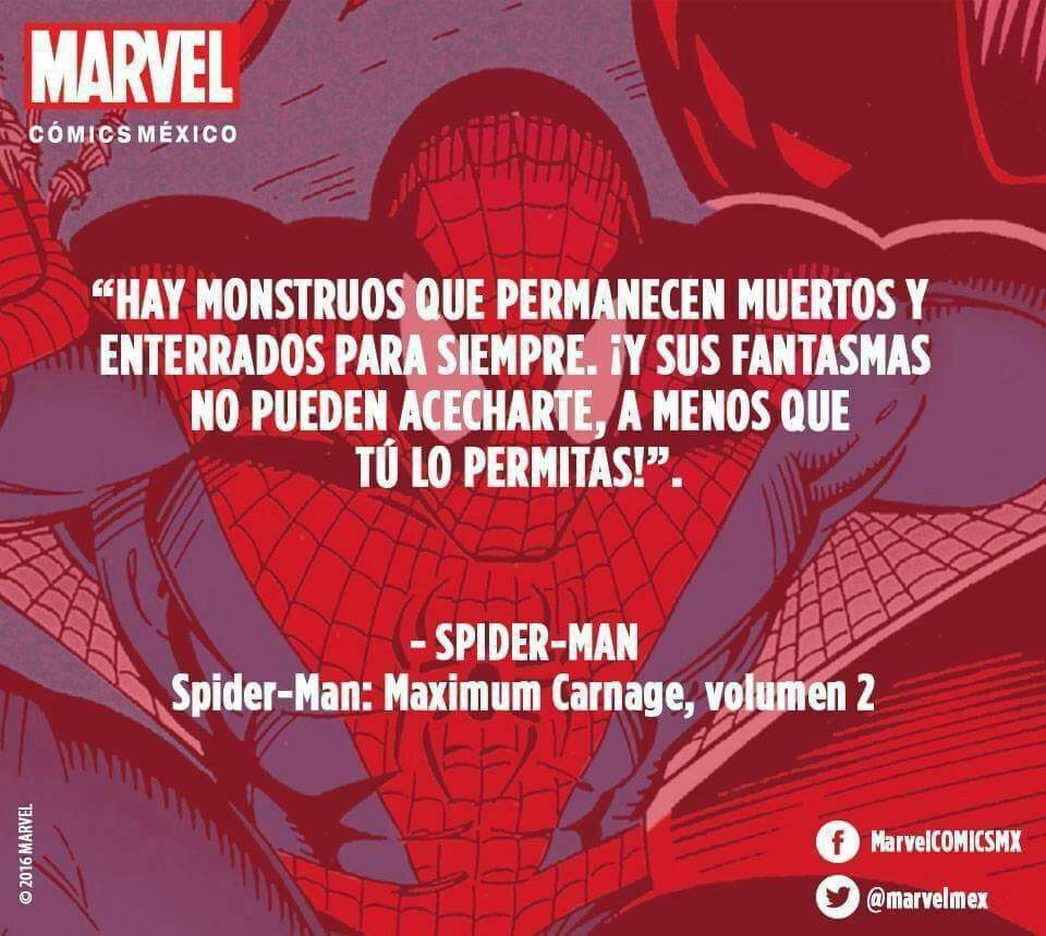 Bonita Frase De Nuestro Amigo Y Vecino Spiderman Cómics
