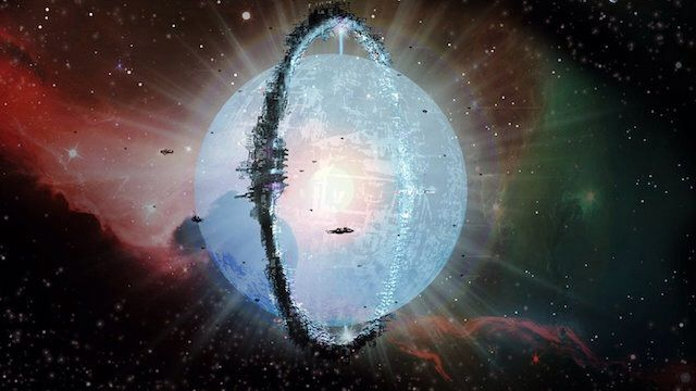 By surrounding their star with swarms of energy-collecting satellites, advanced civilizations could create Dyson spheres. [Read the Full Dyson Sphere Infographic Here.]