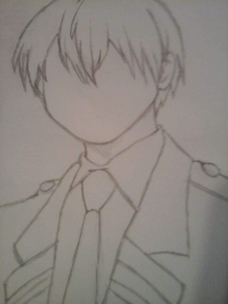 Todoroki Drawing | Anime Amino