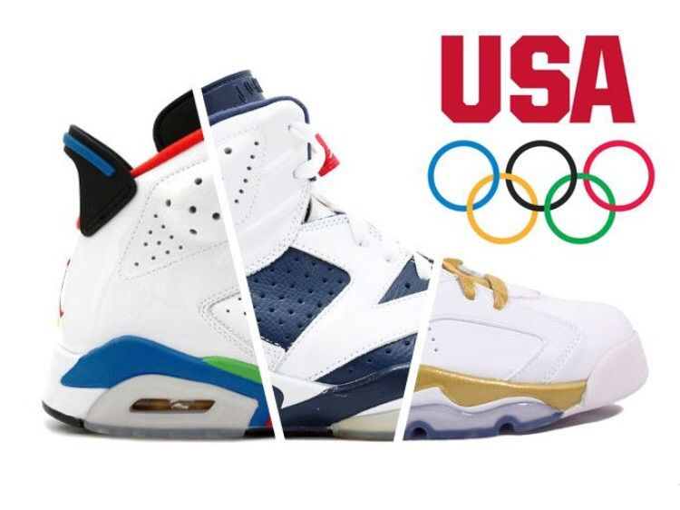 "618a355e164 Kicking things off with the Air Jordan 6 Retro ""Olympic Flag"" colorway that  originally debuted on June 7th, 2008 and retailed for $150."