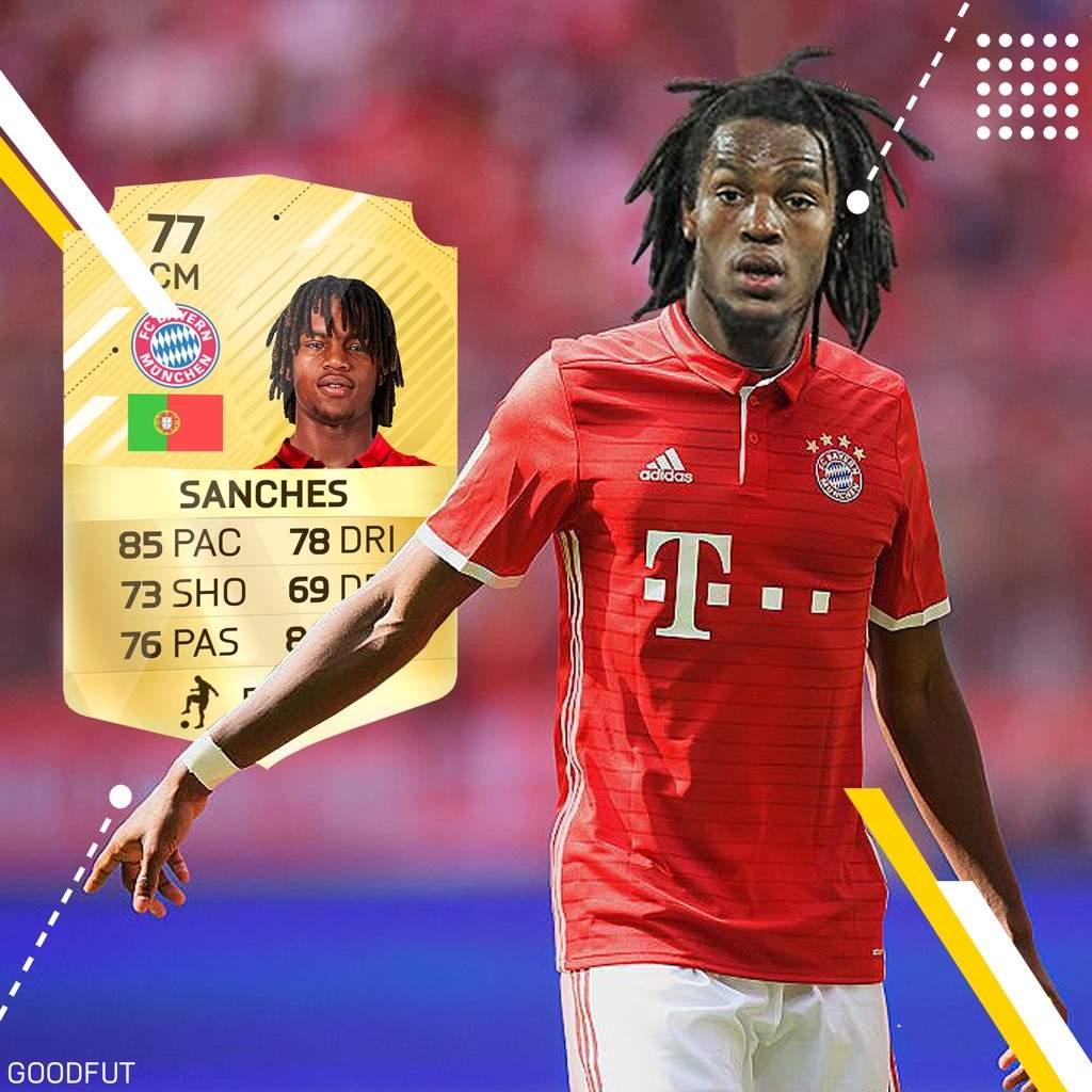 Renato Sanches in FUT 17