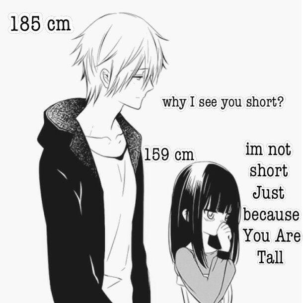 when guys are tallヽ( ´∀` )ノ | Anime Amino