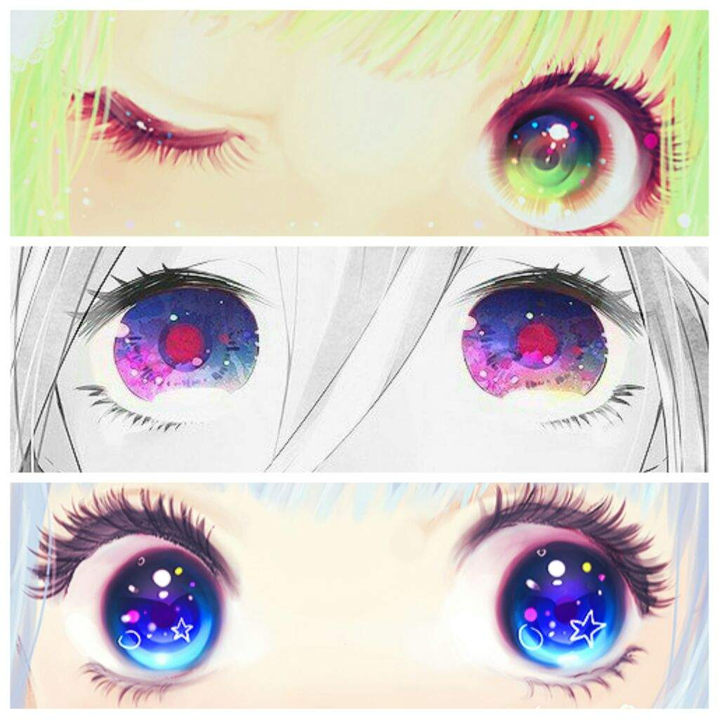 🎀 Eyes Color Challenge 🎀 | •Anime• Amino