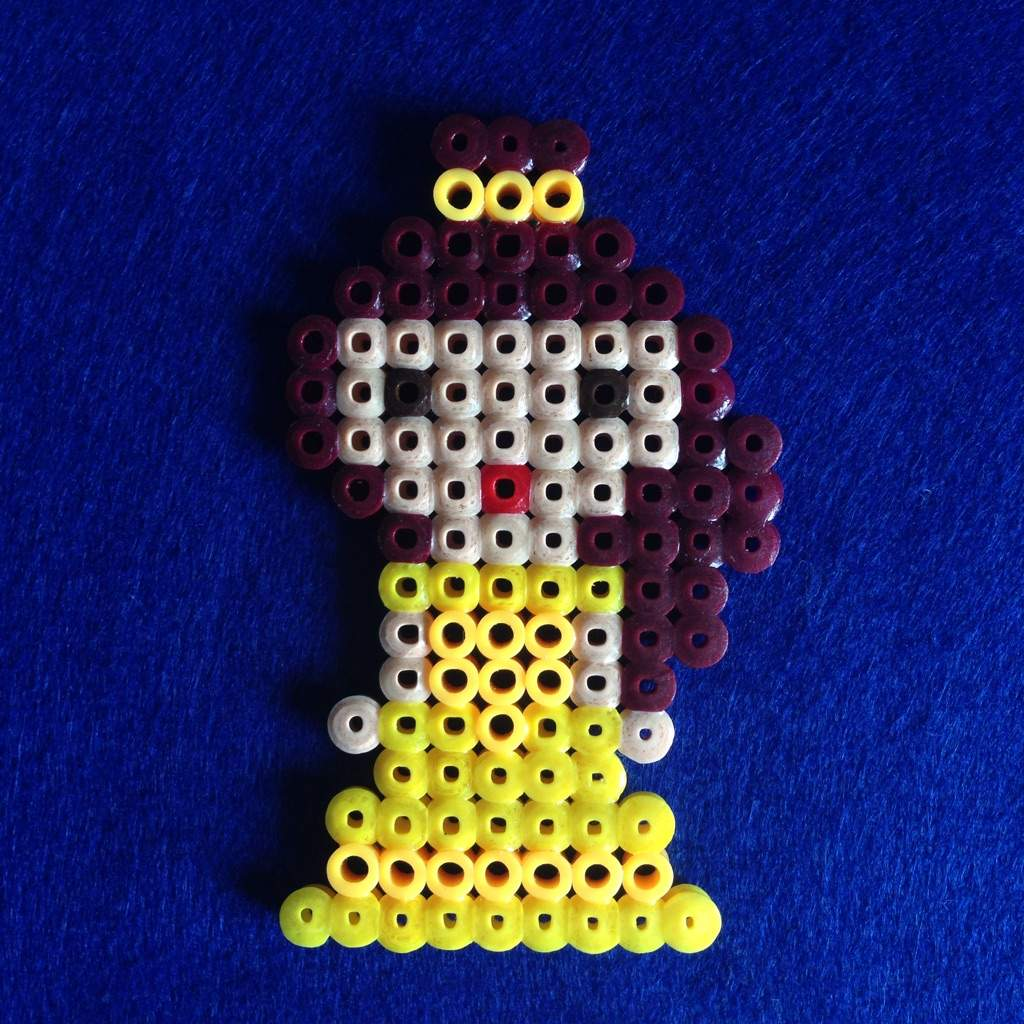 Disney perler beads: beauty and the beast | Disney Amino