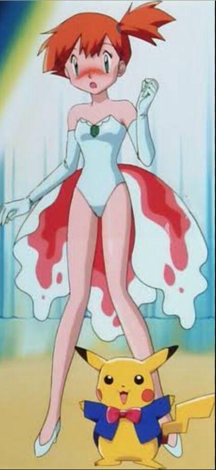 Misty vs iris character comparison pok mon amino - Pokemon misty feet ...