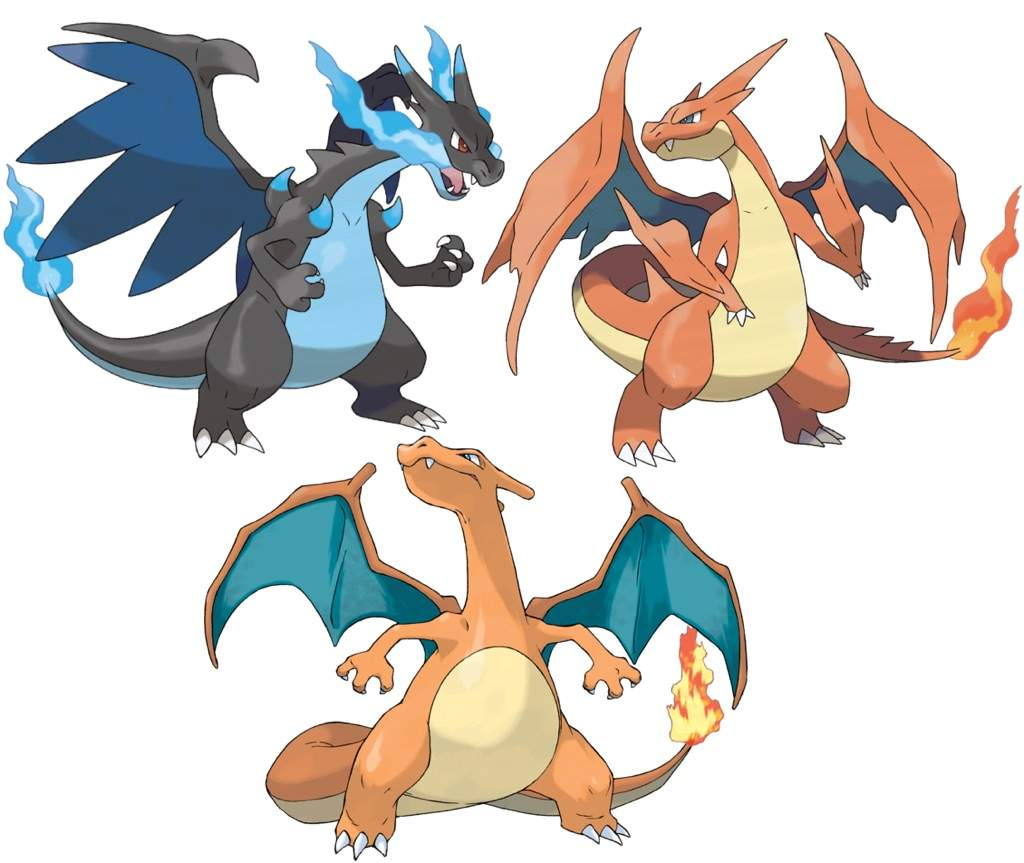 Which Mega Evolution Would Suit Charizard: Mega Charizard ...