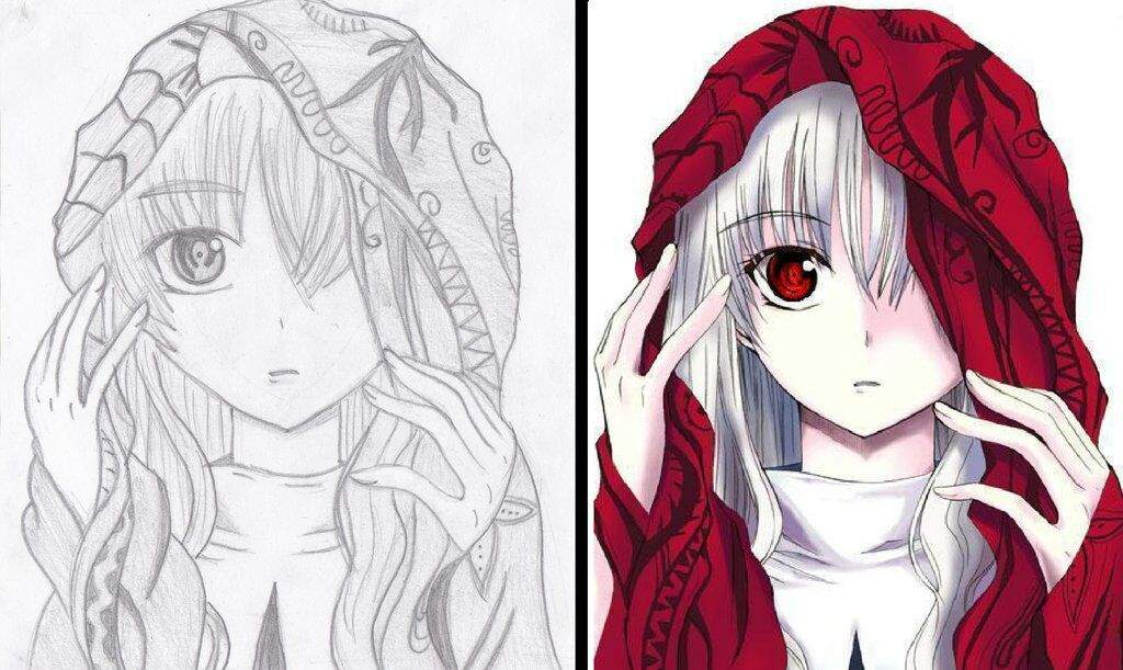 Dibujo A Color O En Blanco Y Negro
