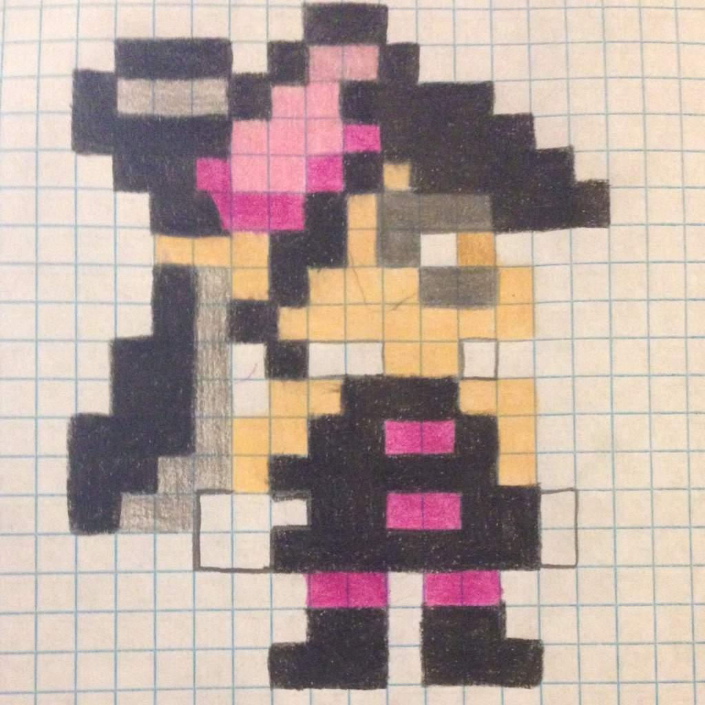 Squid Sisters Pixel Art Splatoon Amino