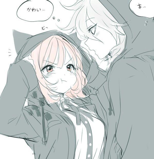 Im su sorreh anime amino - Anime boy hugging girl ...