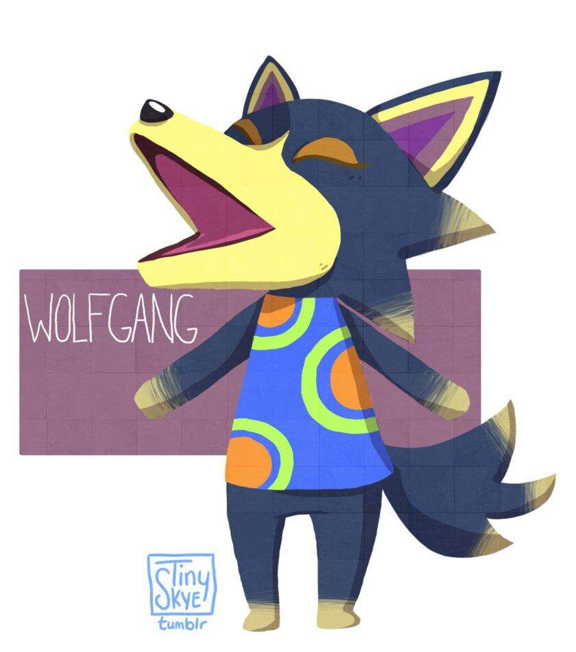 Wolfgang Your Favorite Villager Animal Crossing Amino