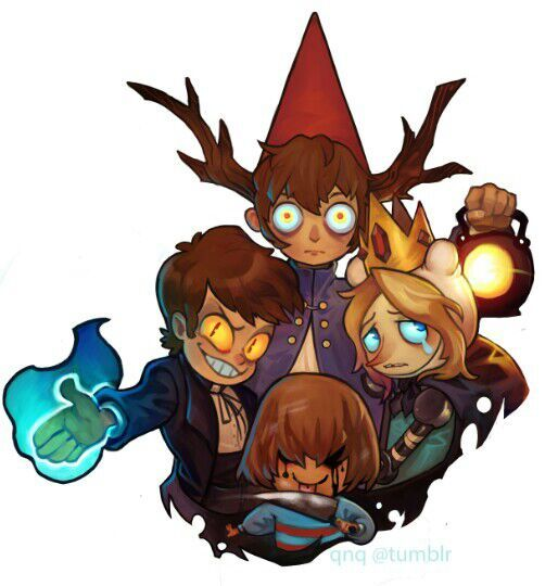 Undertale Gravity Falls Adventure Time Over The Garden Wall