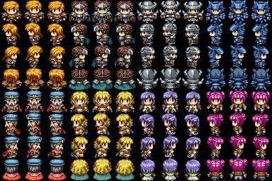 The triple comparison  VX, Ace, and XP | RPG Maker Amino