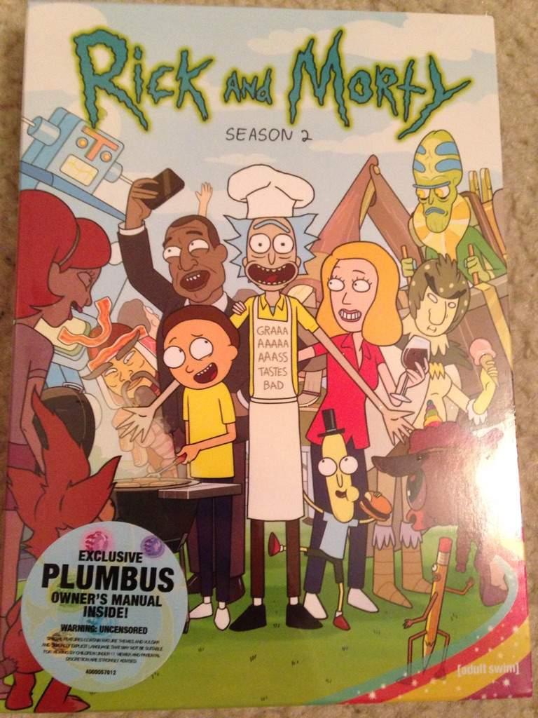 rick and morty season 2 cartoon amino