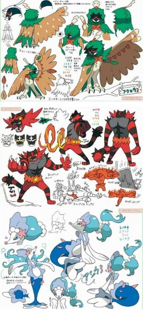 Possible Spoilers Potential Pokemon Gen 7 Starter Evolutions Look Meh Video Games Amino
