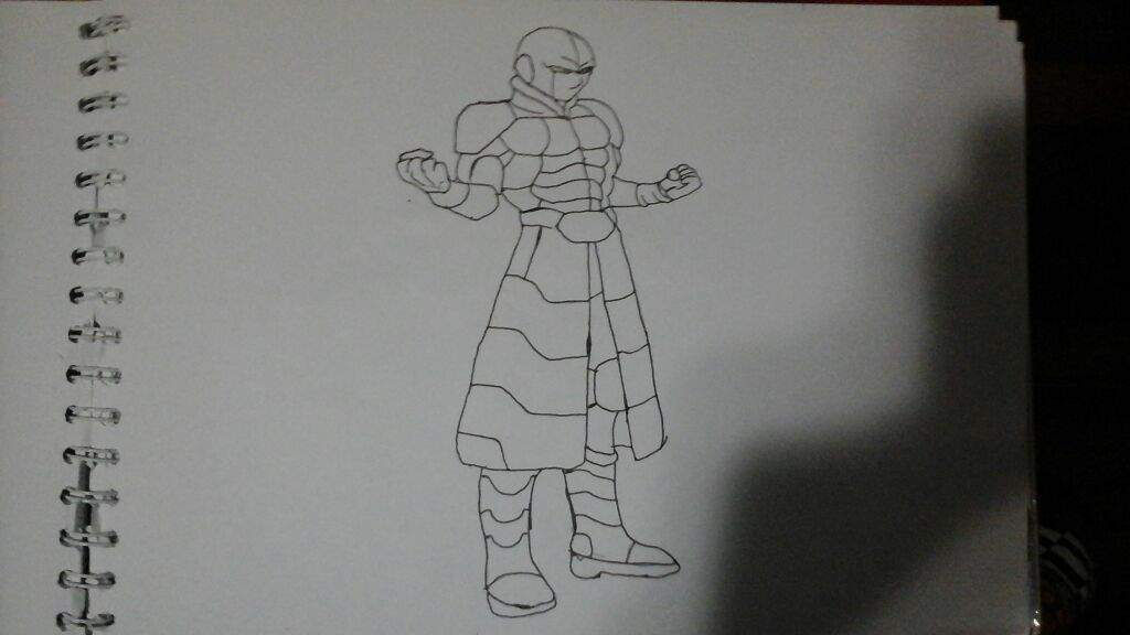 Dragon Ball Super Hit Dibujo