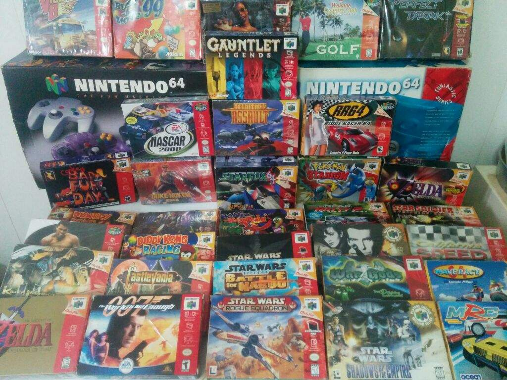 Coleccion Juegos Nintendo 64 Completos Video Games Amino