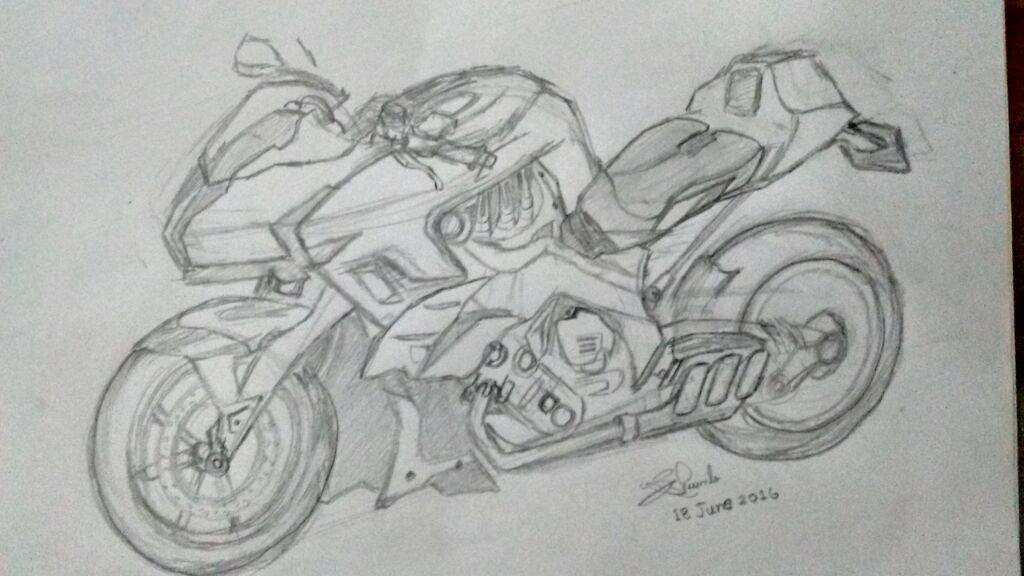 Bmw Bike Sketch Video Please Watch The Video Link Anime Amino