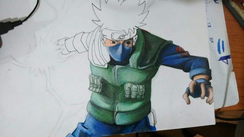Dibujo De Kakashi Hatake