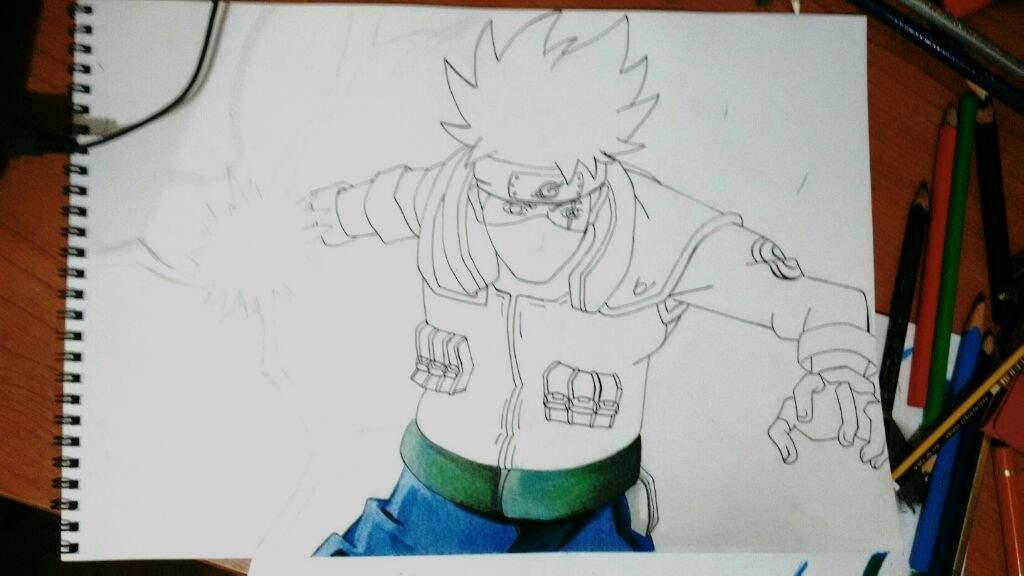Dibujos De Kakashi Para Colorear: Dibujo De Kakashi Hatake
