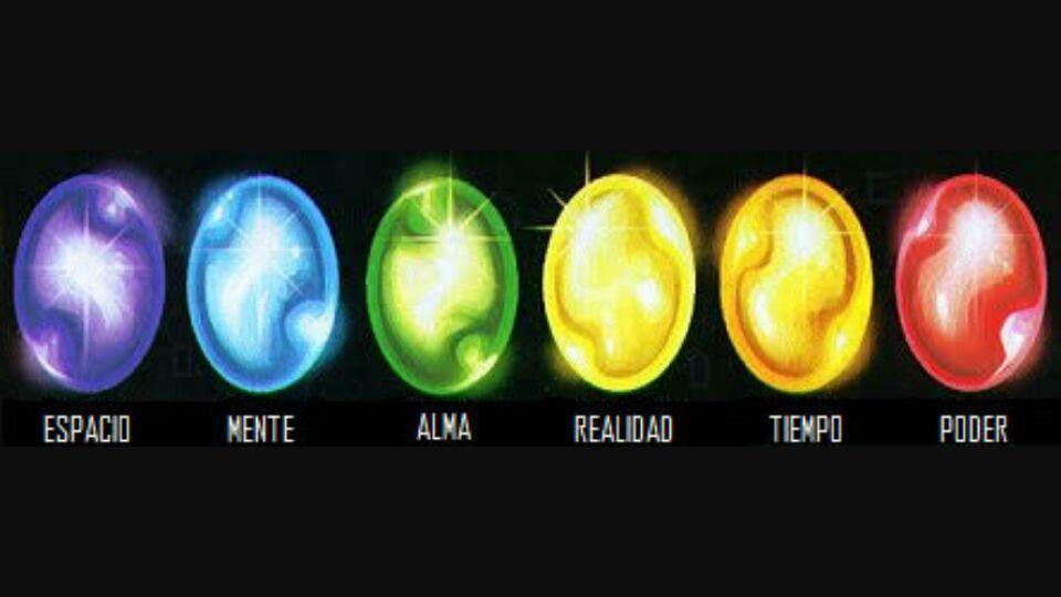 Guantelete del infinito c mics amino for Cual es el color piedra