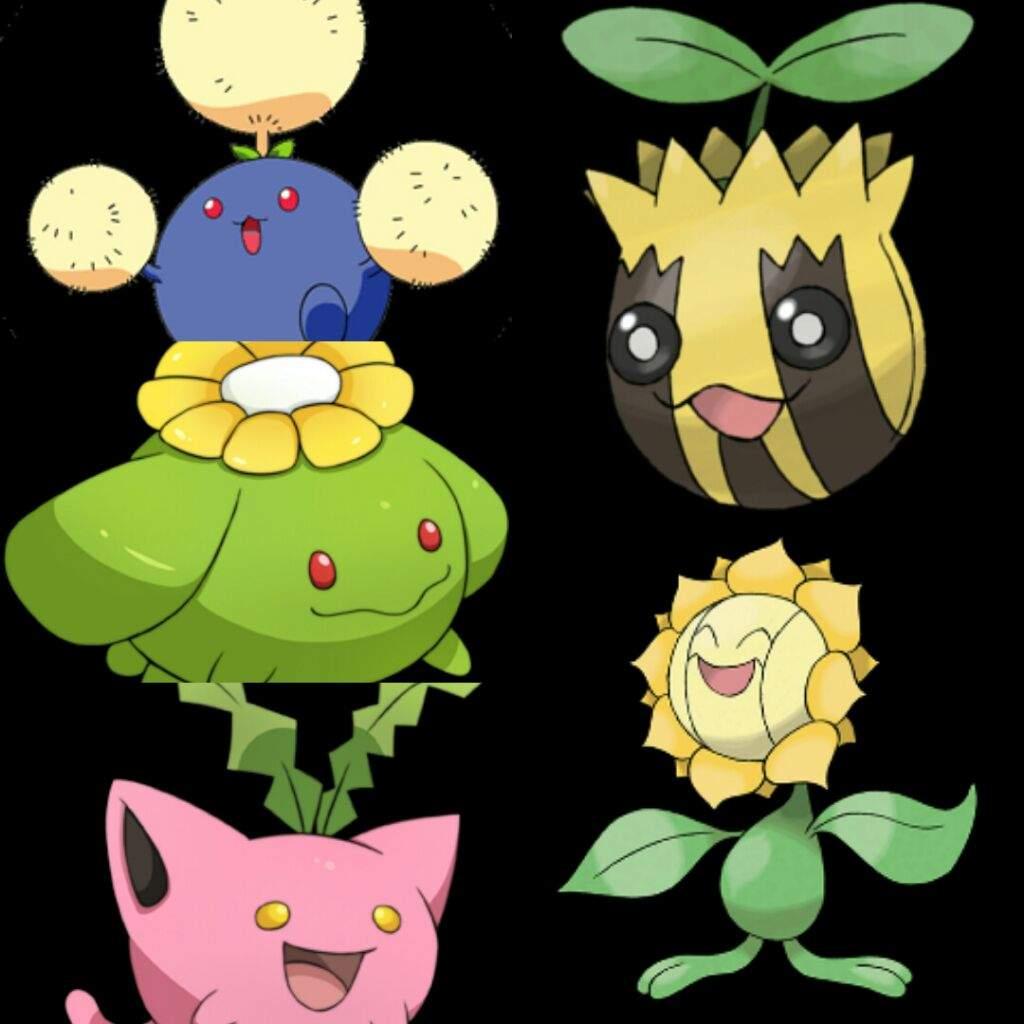 Pokemon Tipo Planta Electrico