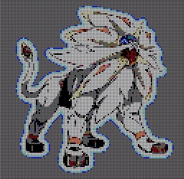 Solgaleo Pixel Art Pokémon Amino