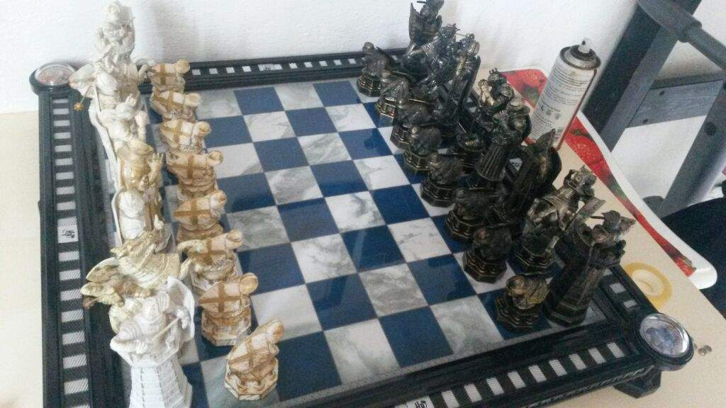chess is the enchanted variant of the classic board game in which the pieces move of their own accord when commanded by the player