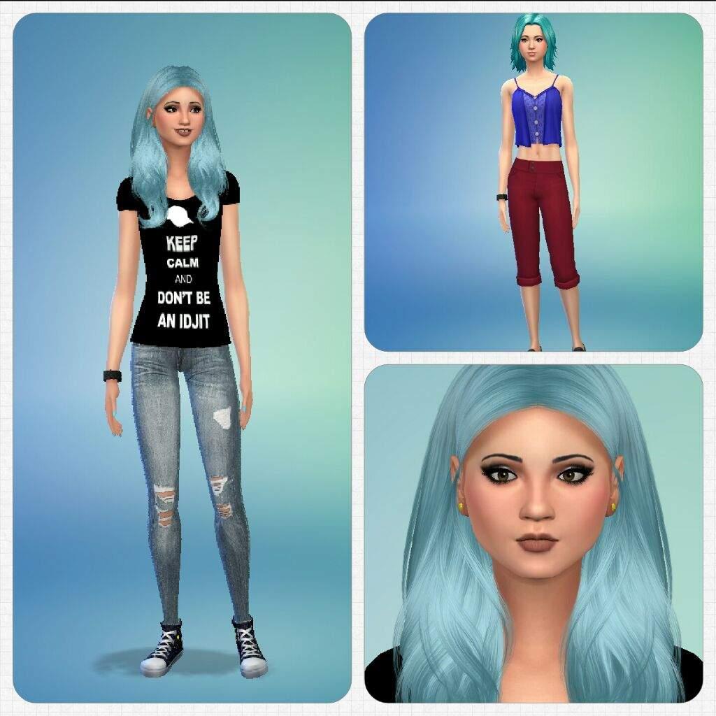 TS4 Townie Makeover | Sims Amino