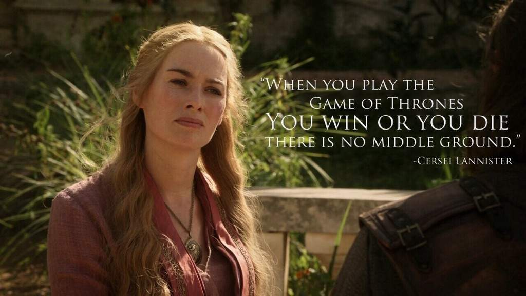 Did Cersei Plan All This?