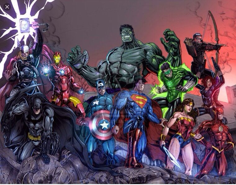 avengers and justice league vs darkseid galactus thanos and apocalypse comics amino - Avengers Vs Justice League